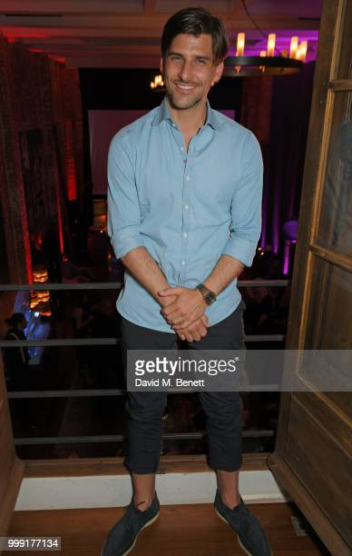 Johannes Huebl attends the Formula E 1920's cocktail party hosted by Liv Tyler on the eve of the final race of the 2017/18 ABB FIA Formula E...