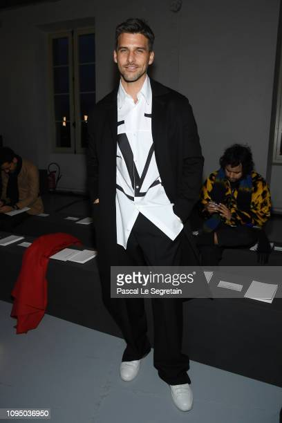 Johannes Huebl attends the Valentino Menswear Fall/Winter 20192020 show as part of Paris Fashion Week on January 16 2019 in Paris France