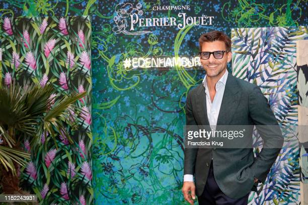 Johannes Huebl during the Eden Hamburg by Perrier-Jouet at Tortue Hamburg on June 26, 2019 in Hamburg, Germany.