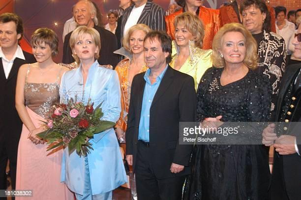 Johannes Kalpers Francine Jordi Carmen Nebel Chris de Burgh Hannelore Kramm Ehemann Heino ZDFMusikShow Willkommen bei Carmen Nebel Offenburg...