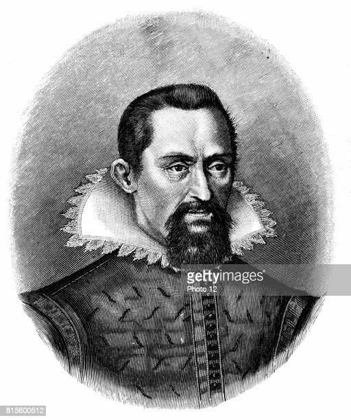 Johannes Kepler German astronomer Engraving c1903