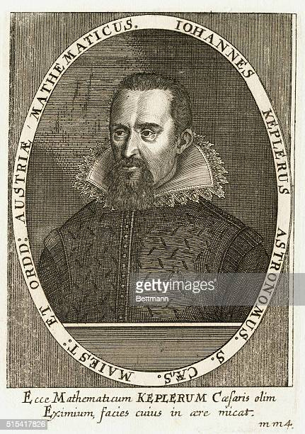 Johannes Kepler German astronomer who discovered three laws of planetary motion