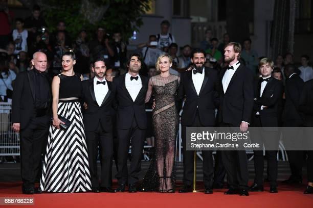 Johannes Krisch Samia Muriel Chancrin Denis Moschitto director Fatih Akin Diane Kruger Numan Acar and Ulrich Brandhoff attend the 'In The Fade '...