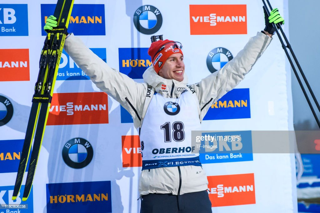 BMW IBU World Cup Biathlon Oberhof - Men 10 km Sprint Competition : Photo d'actualité