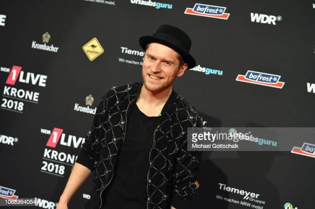 Johannes Oerding attends the 1Live Krone radio award at Jahrhunderthalle on December 6 2018 in Bochum Germany