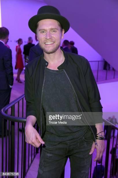 Johannes Oerding attends the Deutscher Radiopreis at Elbphilharmonie on September 7 2017 in Hamburg Germany