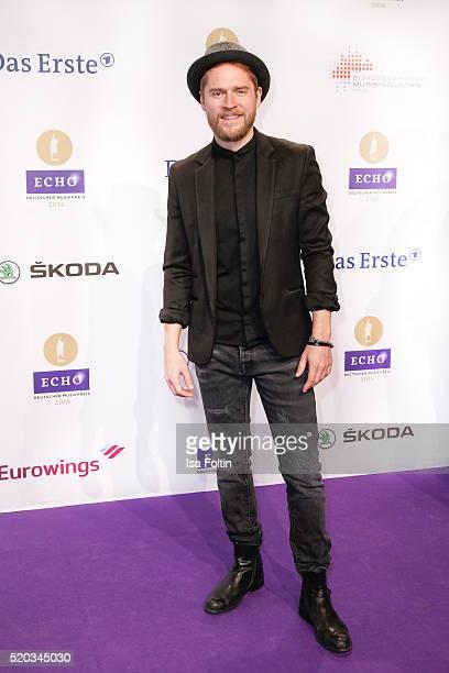 Johannes Oerding attends the Echo Award 2016 on April 07 2016 in Berlin Germany