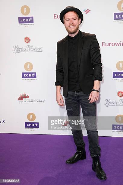 Johannes Oerding attends the Koenig Pilsener At Echo Award 2016 on April 07 2016 in Berlin Germany