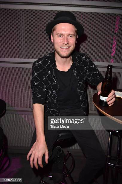 Johannes Oerding during the 1Live Krone radio award Aftershowparty at Jahrhunderthalle on December 6 2018 in Bochum Germany