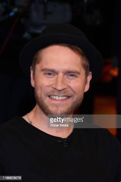 Johannes Oerding during the NDR talk show on November 8 2019 in Hamburg Germany