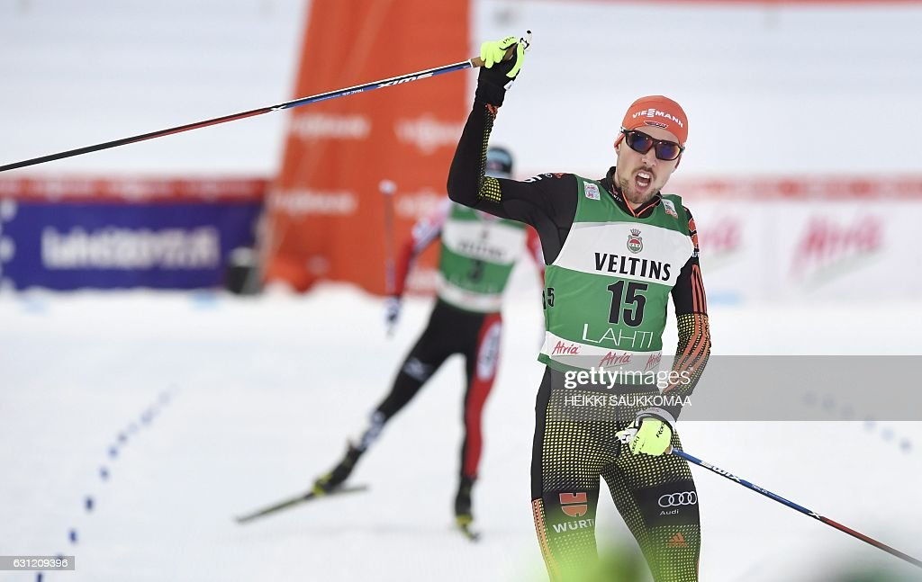 SKI-NORDIC-COMBINED-WORLD-FIN : News Photo