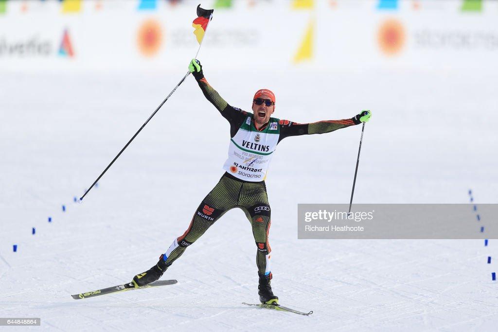 Men's Nordic Combined HS100/10km - FIS Nordic World Ski Championships : News Photo