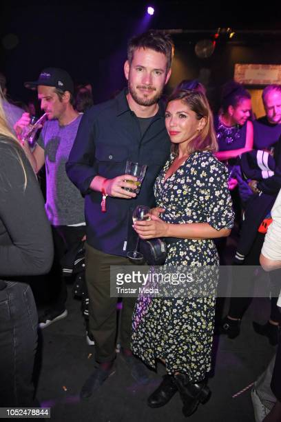 Johannes Strate of the band Revolverheld and his girlfriend Anna Angelina Wolfers attend the Stella McCartney X UZWEI Spring/Summer 2019 Collection...