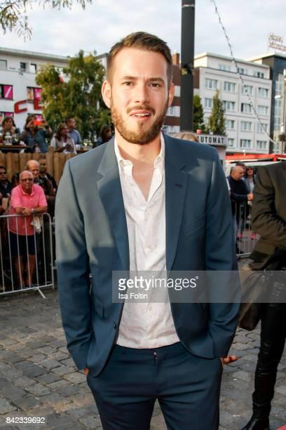 Johannes Strate singer of the band 'Revolverheld' attends the 'Nacht der Legenden' at Schmidts Tivoli on September 3 2017 in Hamburg Germany