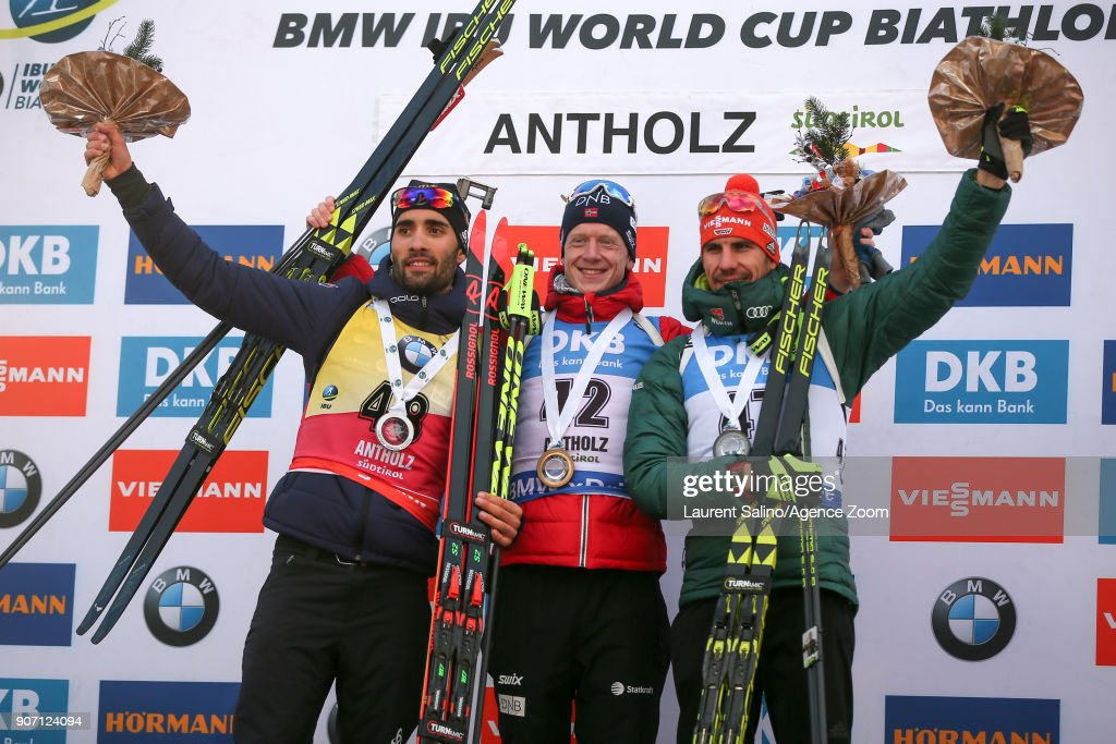 IBU World Cup Biathlon - Men's Sprint : News Photo