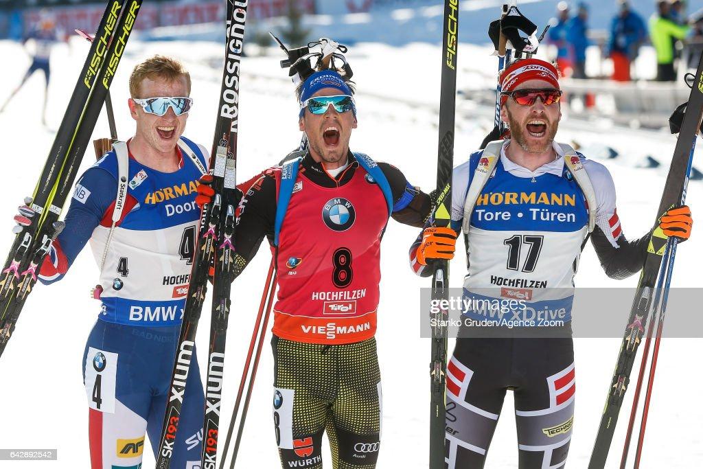 IBU Biathlon World Championships - Men's and Women's Mass Start : News Photo