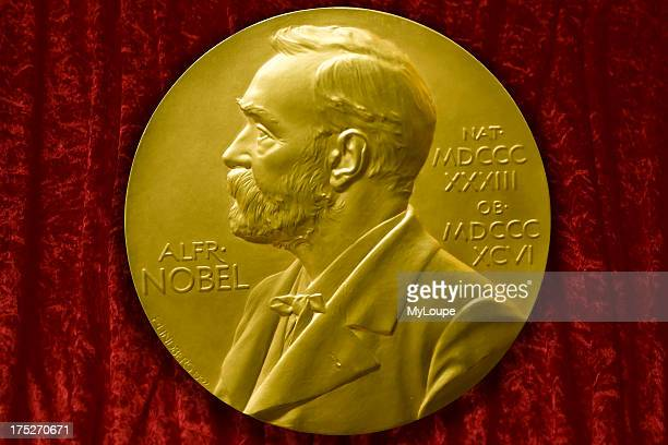 Johannes V Jensens Nobel Prize winner medal from 1944