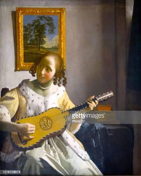 Johannes Vermeer. Dutch school. The Guitar Player, 1672. Oil on canvas . London, Kenwood House.