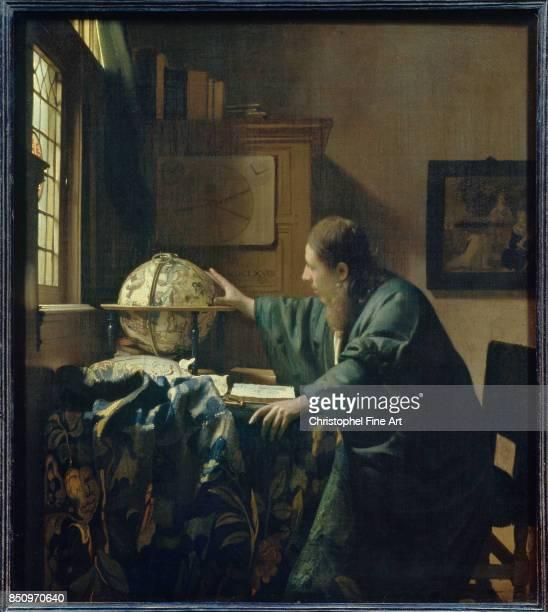 Johannes Vermeer The Astronomer 1668 Oil on canvas 051 x 045 m Paris Louvre Museum
