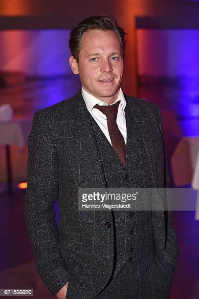 Johannes Zirner during the MetropolisDeutscher Regiepreis 2016 at HFF Munich on November 6 2016 in Munich Germany