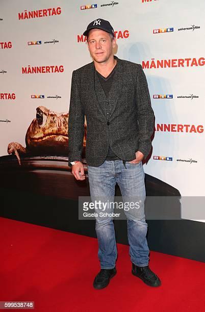 Johannes Zirner during the premiere for the film 'Maennertag' at Mathaeser Filmpalast on September 5 2016 in Munich Germany