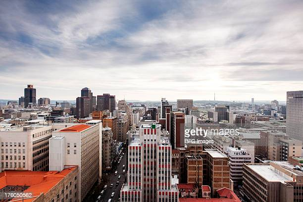 Johannesburg city center skyline, Johannesburg, Gauteng Province, South Africa