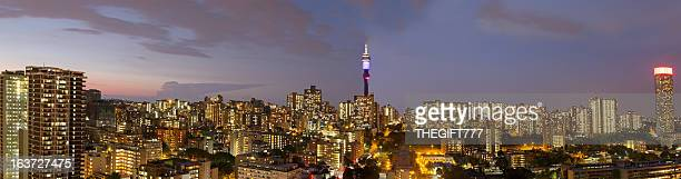Johannesburg Large Evening Panorama