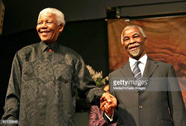 Johannesburg South Africa The University of Witwatersrand Former South African president Nelson Mandela and current South African president Thabo...