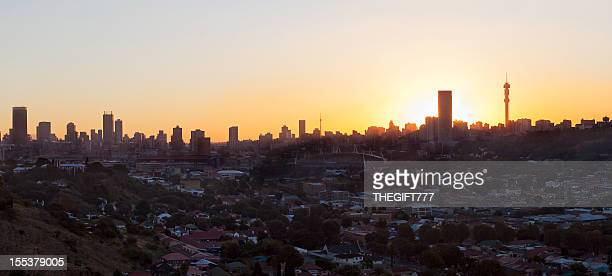 Johannesburg Sunset from the east