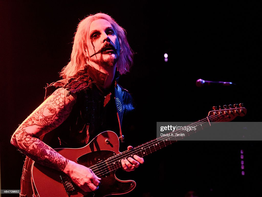 John 5 performs at WorkPlay on February 27, 2015 in Birmingham, Alabama.