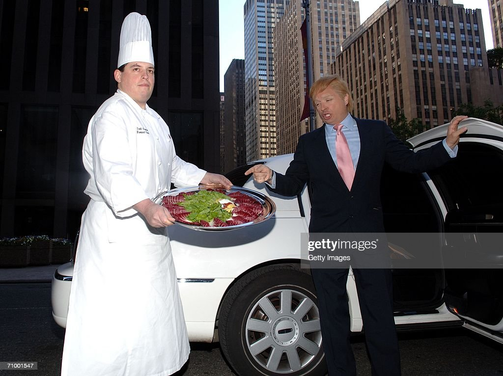 """Donald Trump Omelet """"The Domelet"""" Unveiled : News Photo"""