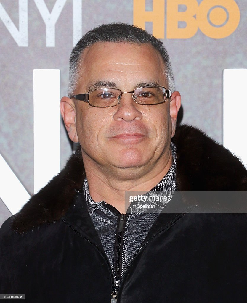 John A. Gotti attends the 'Vinyl' New York premiere at Ziegfeld Theatre on January 15, 2016 in New York City.