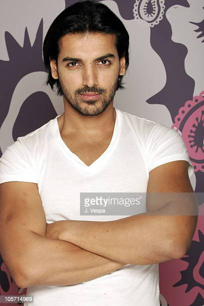 John Abraham during 2005 Toronto Film Festival Water Portraits at HP Portrain Studio in Toronto Canada