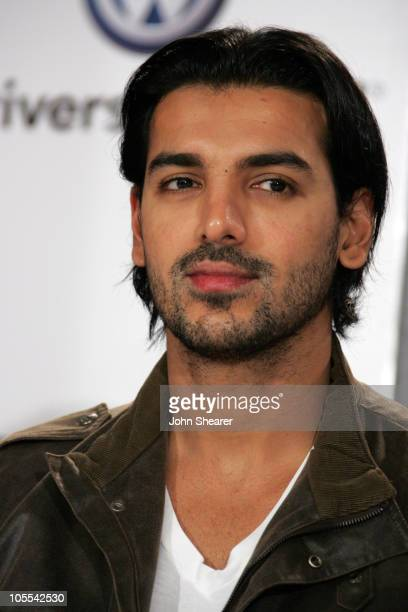 John Abraham during 2005 Toronto Film Festival Water Press Conference at Sutton Place Hotel in Toronto Canada