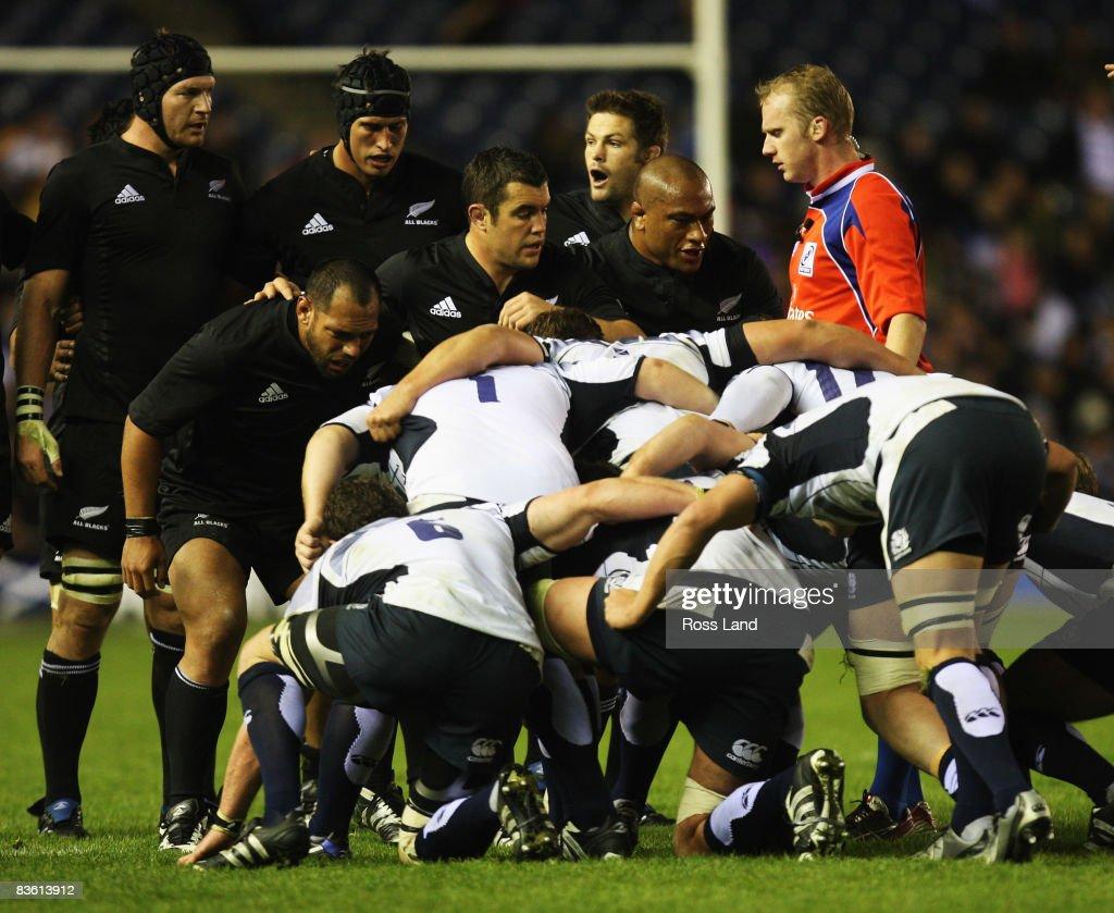 Scotland v New Zealand : News Photo