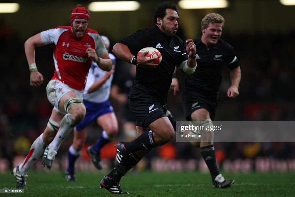 Wales v New Zealand : News Photo