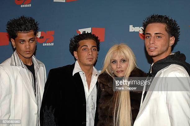 John Agnello Carmine Agnello Jr Victoria Gotti and Frank Agnello arrive at the VH1 Big in '05 Awards held at Sony Pictures Studios in Culver City