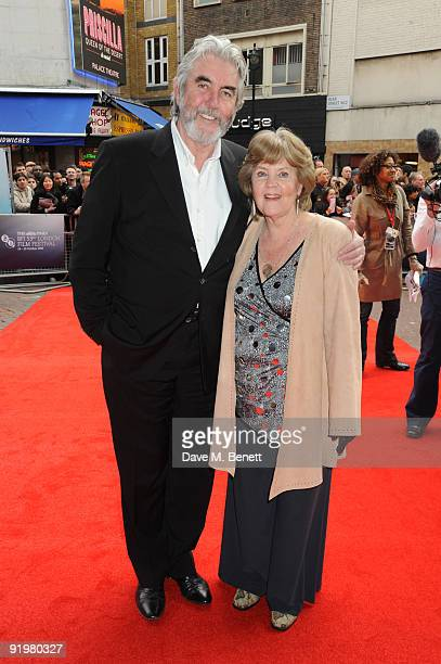 John Alderton and Pauline Collins attend the screening of From Time to Time at the Vue West End on October 18 2009 in London