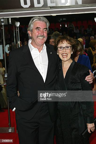 John Alderton and Una Stubbs attend the gala premiere of Calendar Girls at the Odeon Leicester Square September 2 2003 in London United Kingdom