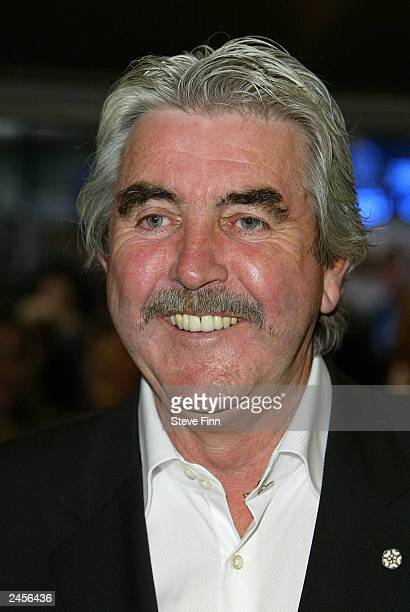 John Alderton attends the UK gala premiere of Calendar Girls at the Odeon Leicester Square on September 2 2003 in London England