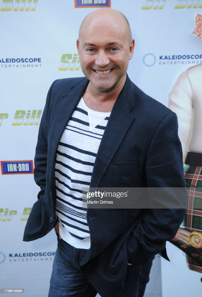 John amablioe attends the 'Sir Billi' press screening at The Grosvenor Cinema on September 5, 2013 in Glasgow, Scotland.