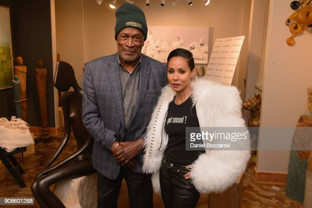 John Amos and Jada Pinkett Smith attend The Will and Jada Smith Family Foundation Presents Broadening the Lens Perspective on Diverse Storytelling...