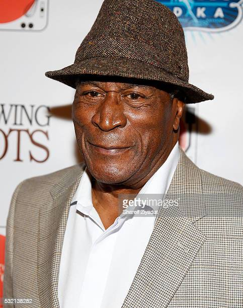 John Amos at Showing Roots New York Screening SVA Theatre on May 17 2016 in New York City