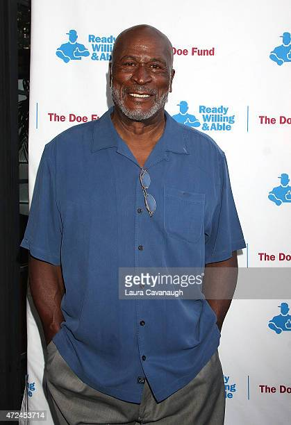 John Amos attends The Doe Fund's sweet New York event at The Bowery Hotel on May 7 2015 in New York City