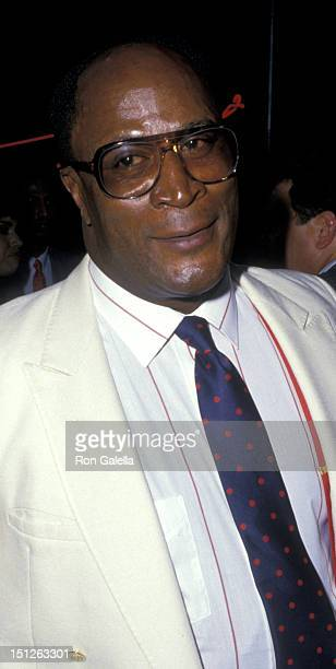 John Amos attends the premiere of Coming To America on June 26 1988 at Mann Chinese Theater in Hollywood California
