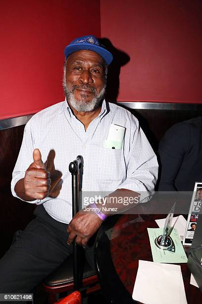 John Amos attends the Rashad Jennings Foundation's 2nd Annual Giant Night Of Comedy at Gotham Comedy Club on September 26 2016 in New York City