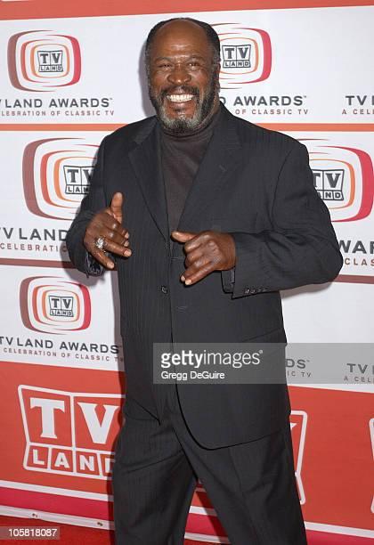 John Amos during 4th Annual TV Land Awards Arrivals at Barker Hangar in Santa Monica California United States