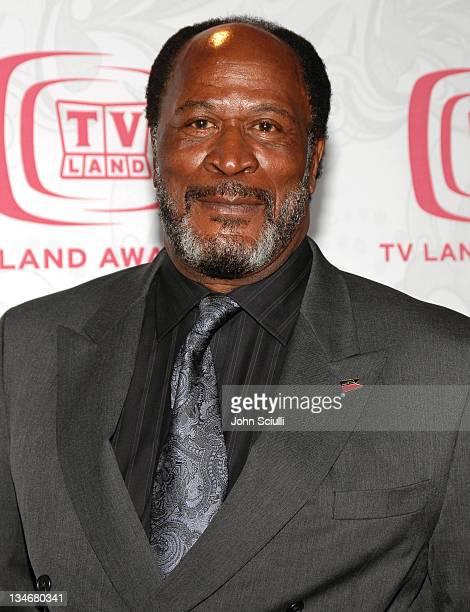 John Amos during 5th Annual TV Land Awards Arrivals at Barker Hanger in Santa Monica CA United States