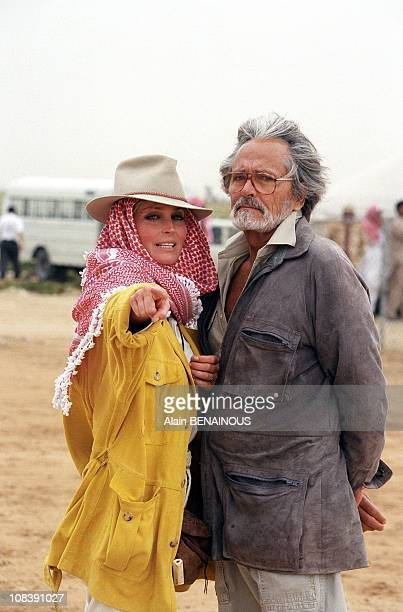 John and Bo Derek Qatar on March 23, 1996.