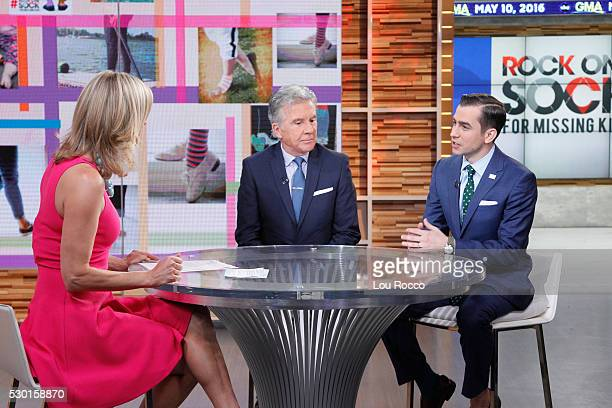 AMERICA John and Callahan Walsh are guests on Good Morning America 5/10/16 airing on the Walt Disney Television via Getty Images Television Network...